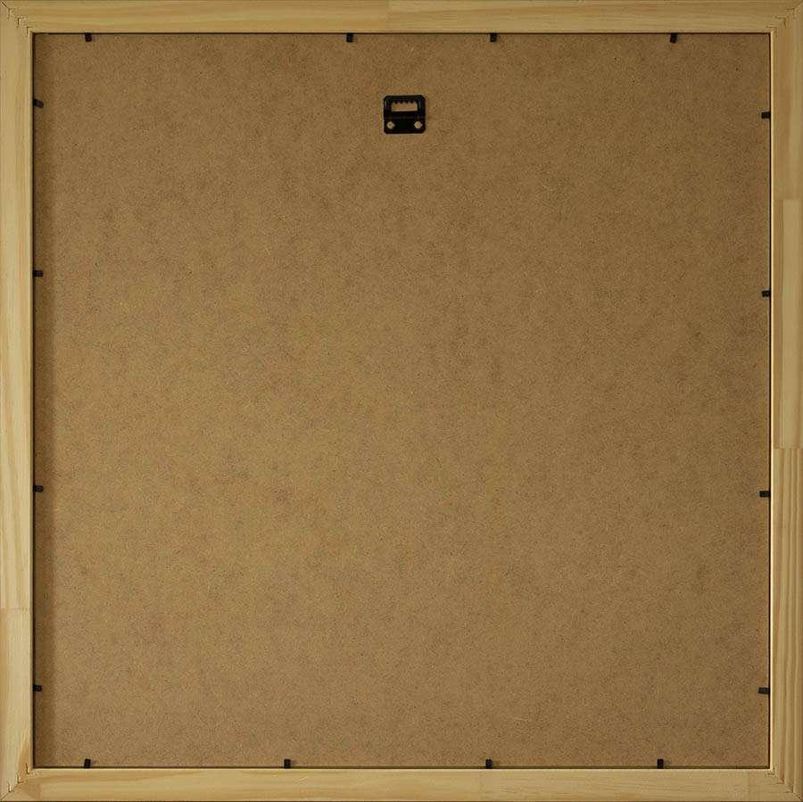 Back of light square frame