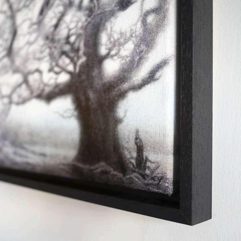 Framed New Forest Oak corner