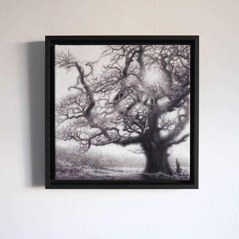 Framed New Forest Oak wall art