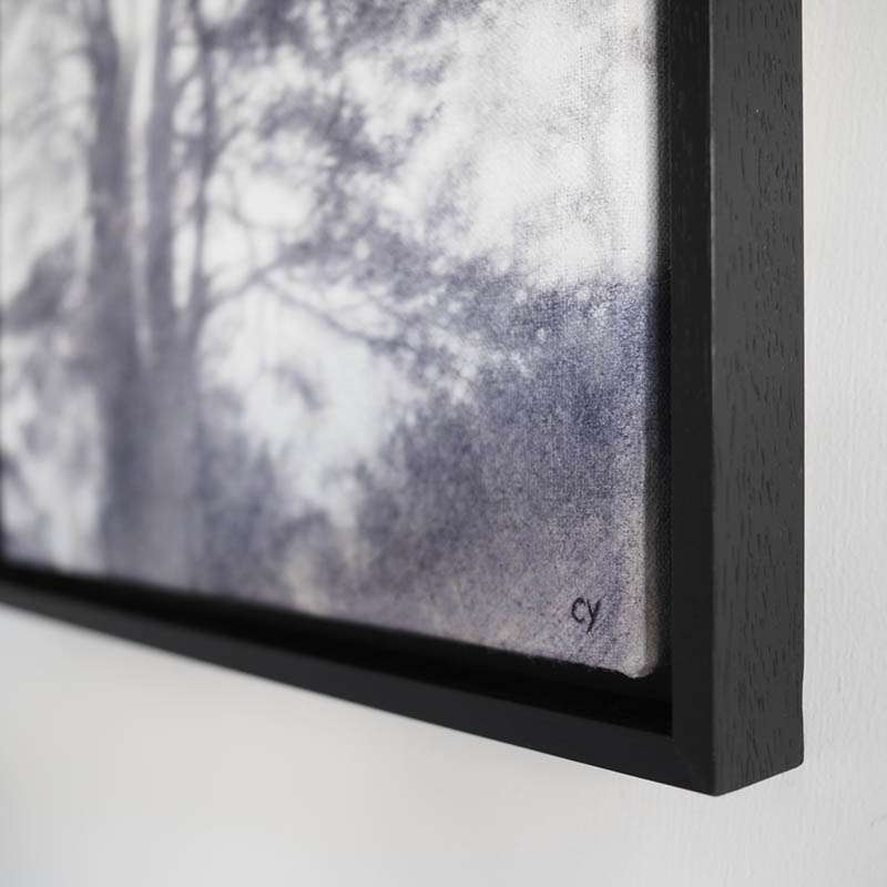 Original framed Scots Pine corner